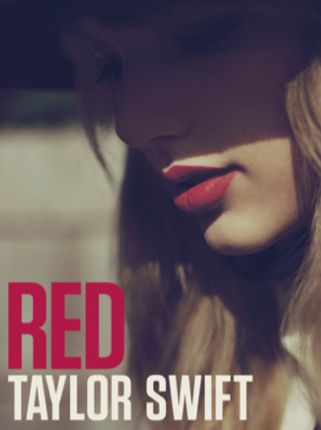 Taylor Swift 'Red' album artwork cover