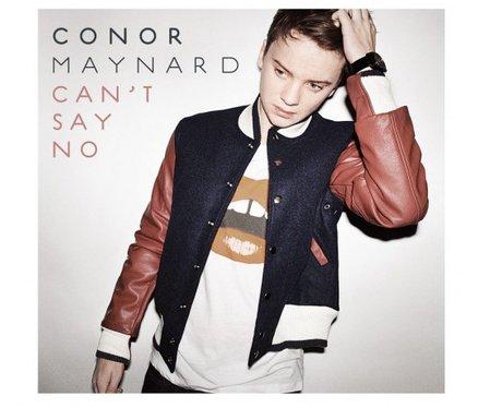 Conor Maynard's 'Cant Say No' single cover.