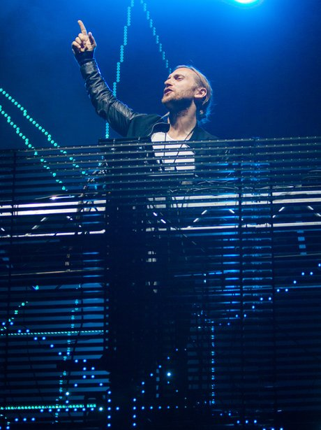 David Guetta Performs At V Festival 2012