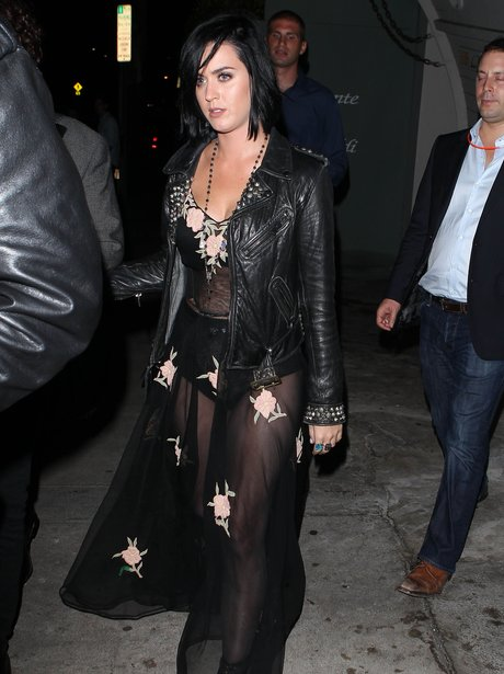 Katy Perry out for dinner