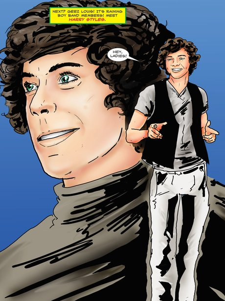 One Direction Comic