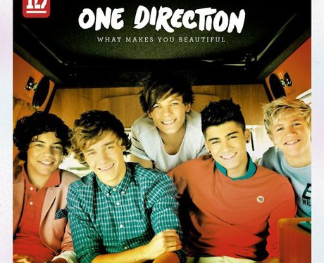 One Direction 'What Makes You Beautiful' single cover