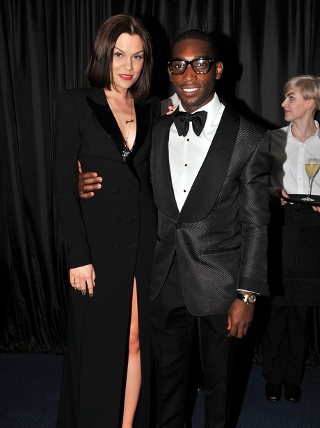 Jessie J and Tinie Tempah at the GQ Awards.