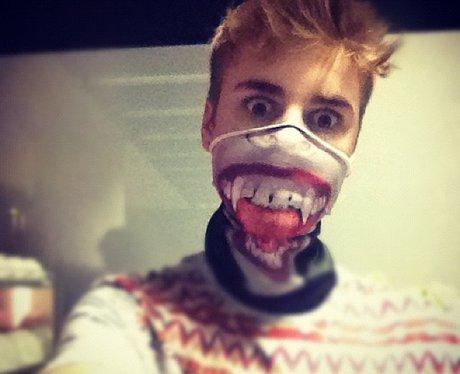 Justin Bieber Halloween Mask