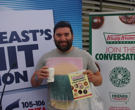 Krispy Kreme Opening Morning Thursday 6th