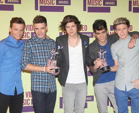 One Direction with 3 awards at MTV VMA's