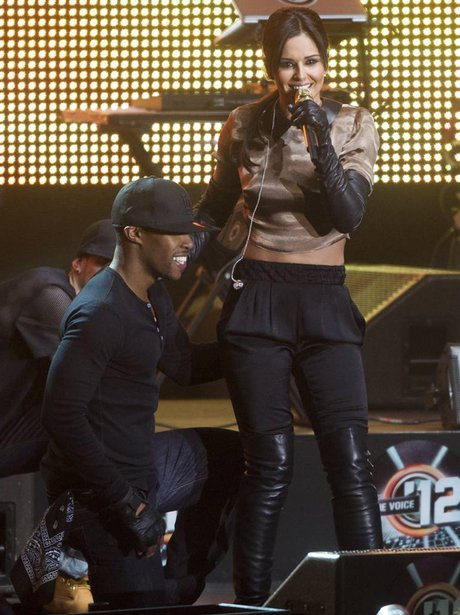 Cheryl Cole and Tre Holloway