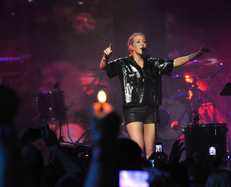 Ellie Goulding live at iTunes festival