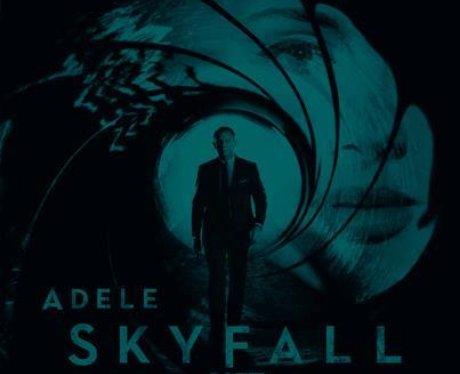 Adele's 'Skyfall' album cover.