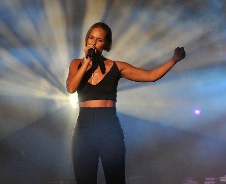 Alicia Keys live at iTunes 2012