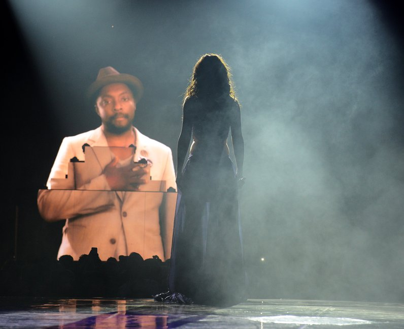 Cheryl Cole performs at her 'A Million Lights' tou