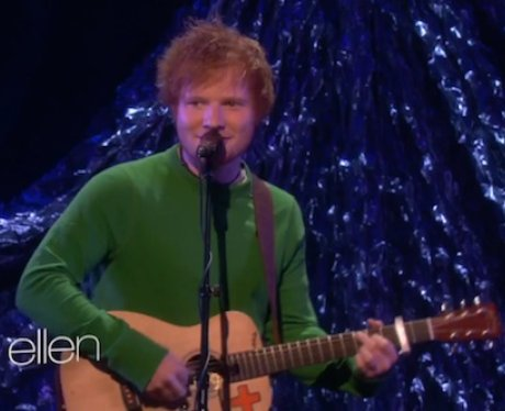 Ed Sheeran on The Ellen Show