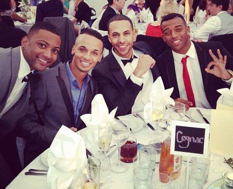 JLS wedding