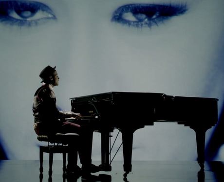 Labrinth in his 'Beneath Your Beautiful' music video