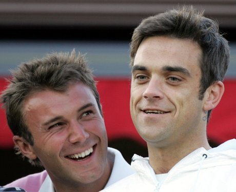 Robbie Williams and Jonathan Wikes