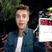 Image 3: Justin Bieber with clipboard