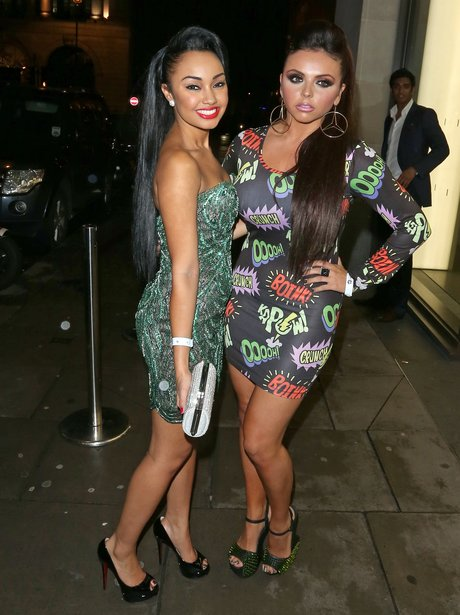 Jesy Nelson and Leigh-Anne Pinnock from Little Mix