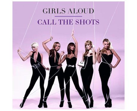 Girls Aloud's 'Call The Shots' single cover.