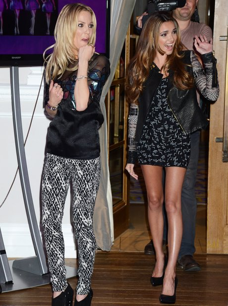 Nadine Coyle and Sarah Harding.