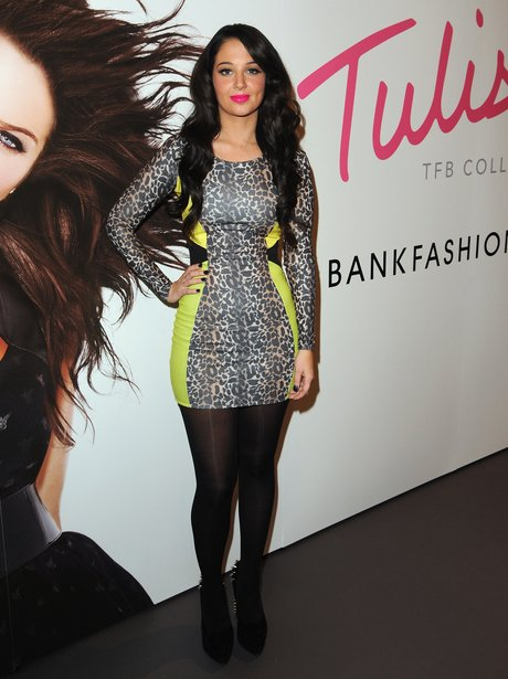 Tulisa launches her fashion range.