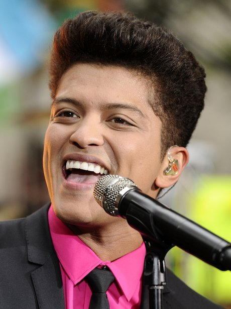 Bruno Mars performs live on the Today Show