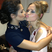 Image 2: Cheryl Cole and Kimberley Walsh share a kiss backstage