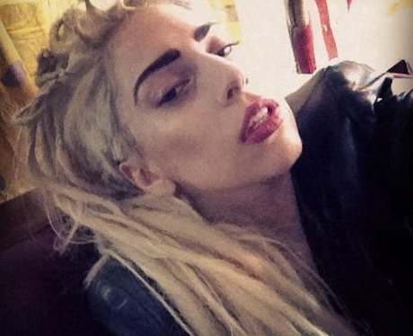 Lady Gaga with dreadlocks