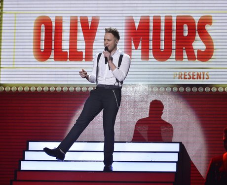 Olly Murs performs on  'The X Factor Live Results