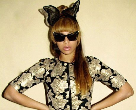 Beyonce modelling clothes