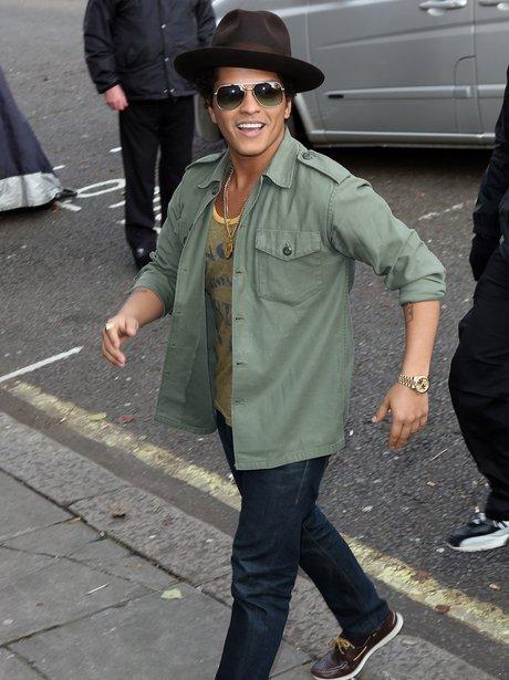 Bruno Mars in London