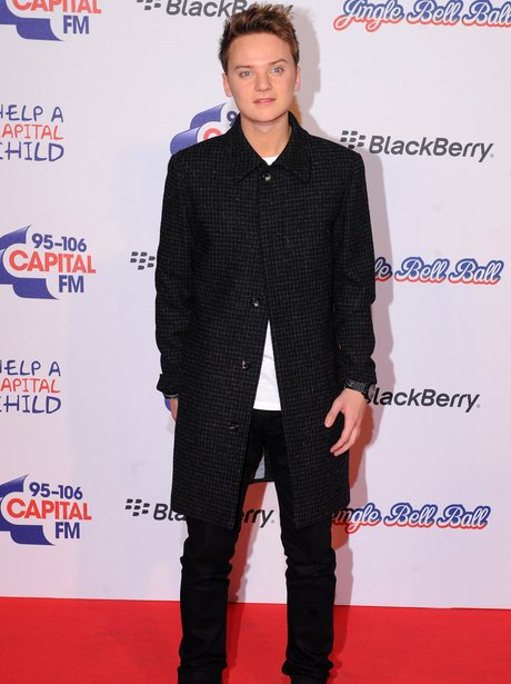 Conor Maynard at the Jingle Bell Ball 2012
