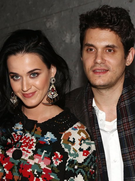 Katy Perry and John Mayer attend 'A Christmas Stor