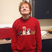 Image 8: Ed Sheeran wearing a cat jumper