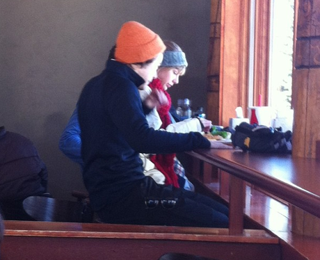 Harry Styles And Taylor Swift In Utah Skiing