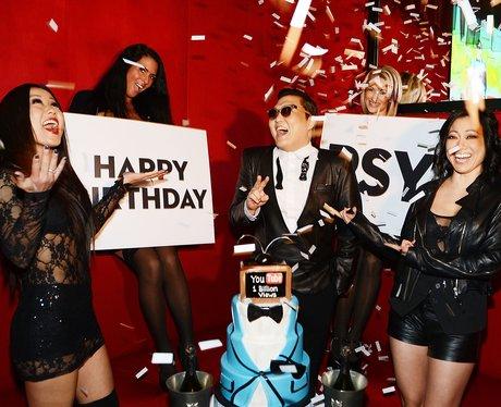 PSY celebrates his birthday on new year's eve