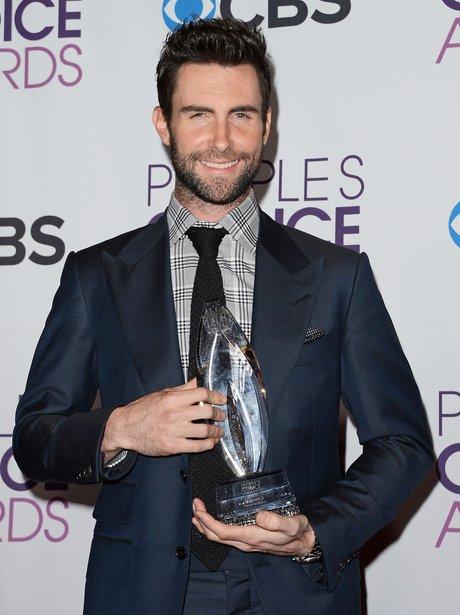Maroon 5 at the People's Choice Awards 2013