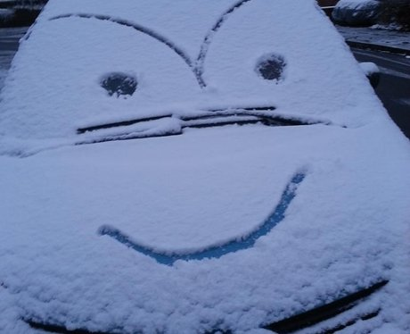 Snow In the East Midlands