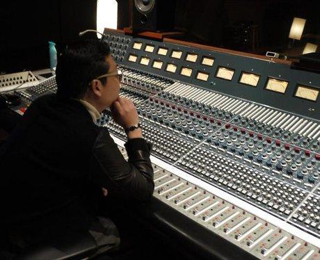PSY in the studio