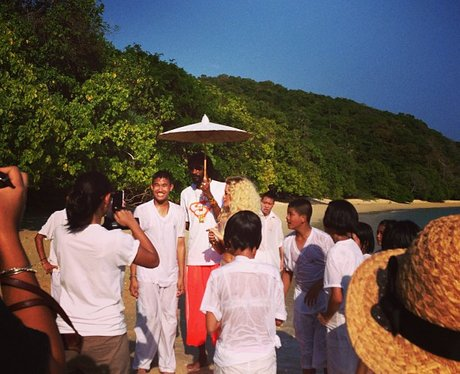 Rita Ora on holiday in thailand