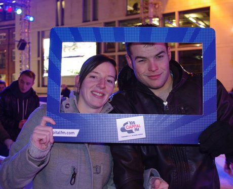Capital FM Ice Cube Opening