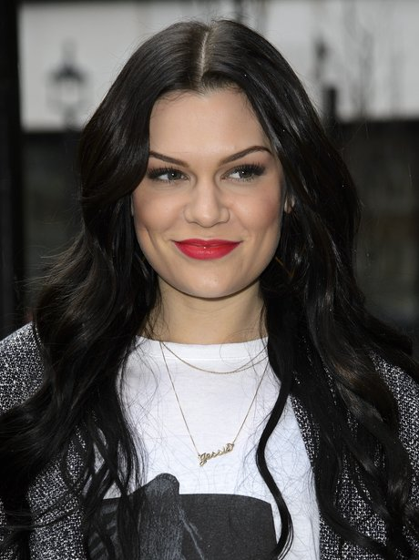 Jessie J shows off her long hair out in London