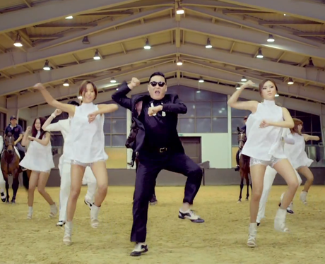 PSY's 'Gangnam Style' music video