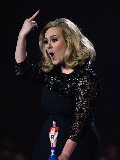 Adele responds to being cut off at the BRITs 2012