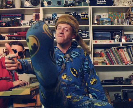 Macklemore in onsie - 'Thrift Shop' Video