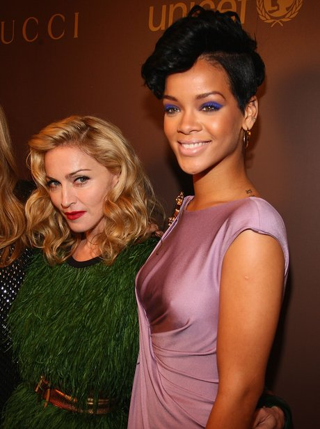Madonna and Rihanna 2008