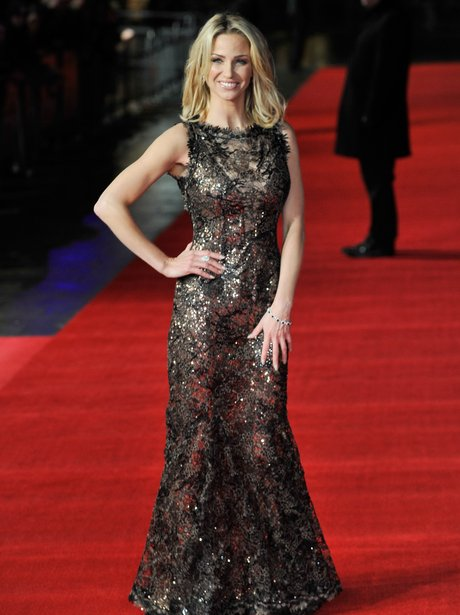 Sarah Harding at the UK premiere of Run For Your Wife