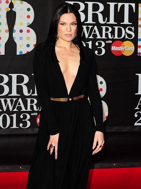 Jessie J arriving for the 2013 Brit Awards
