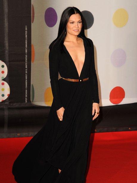 Jessie J at the BRIT Awards 2013