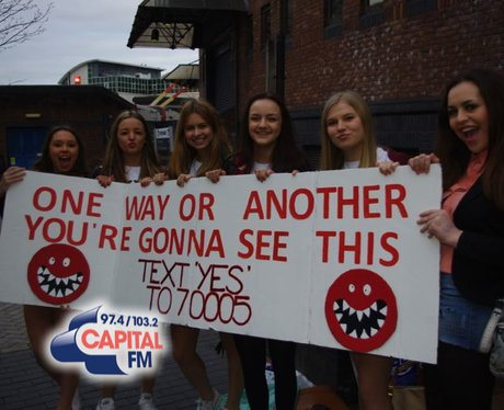1Direction in Cardiff