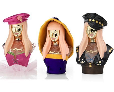 Nicki Minaj unveils perfume covers